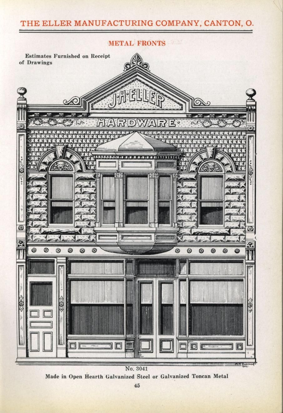 image free Drawing store business. Storefront architecture drawings in