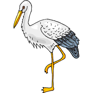 jpg free library Stork clipart. Free cliparts download clip