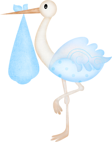 clip library download Stork clipart. It s a girl