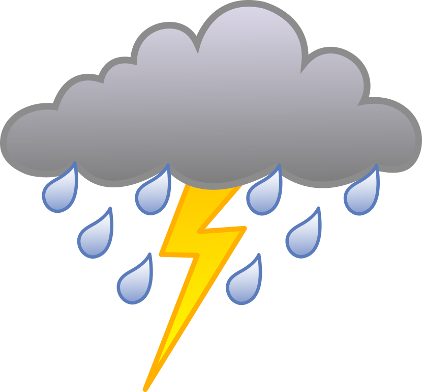 royalty free Lighting clipart lightning cloud.  collection of storm