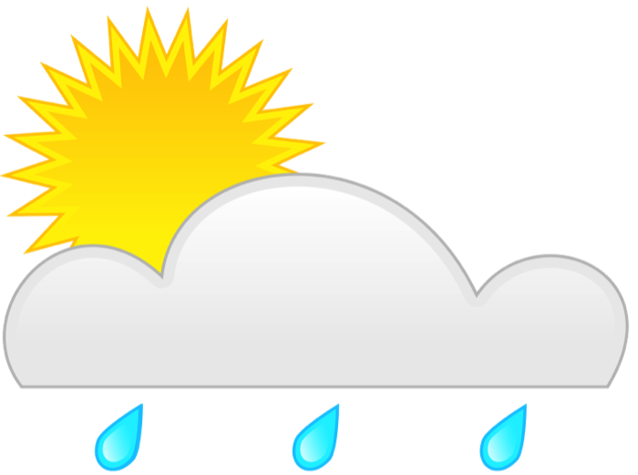 clipart freeuse stock Partly sunny clipart. Weather graphics of wind