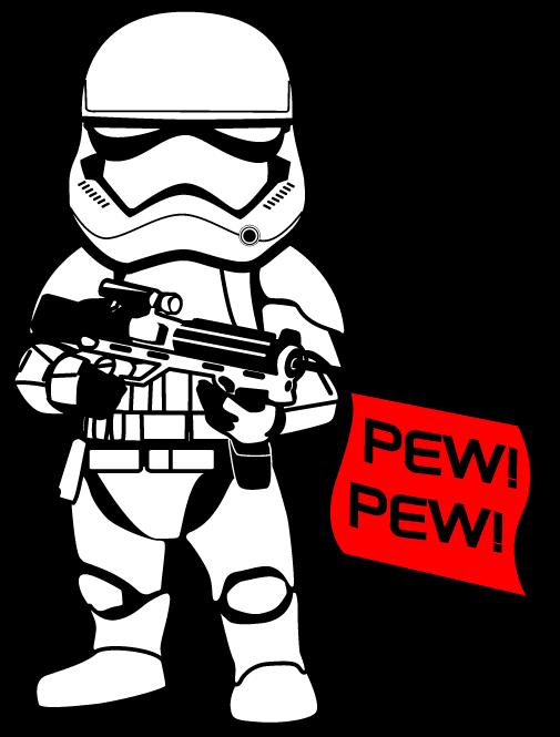 jpg freeuse library  st order stormtrooper. Bb8 clipart storm trooper.