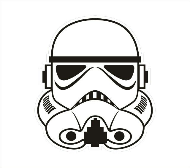 vector royalty free download Bb8 clipart storm trooper. Pin on party ideas.