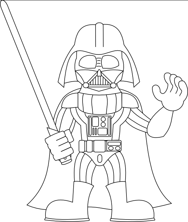 banner royalty free stock Stormtrooper Line Drawing at GetDrawings