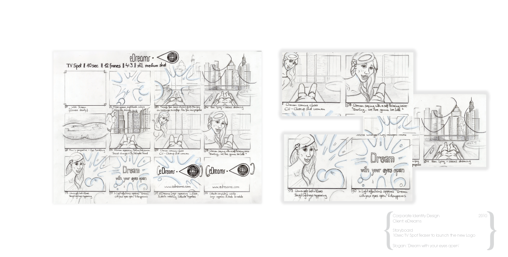 graphic stock Storyboarding