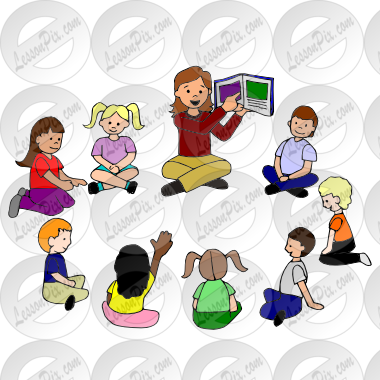 vector free stock Storytime clipart. Story time picture for