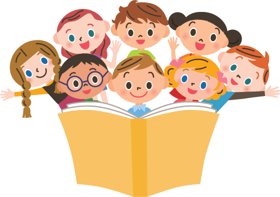 picture royalty free library Luxury design story time. Storytime clipart