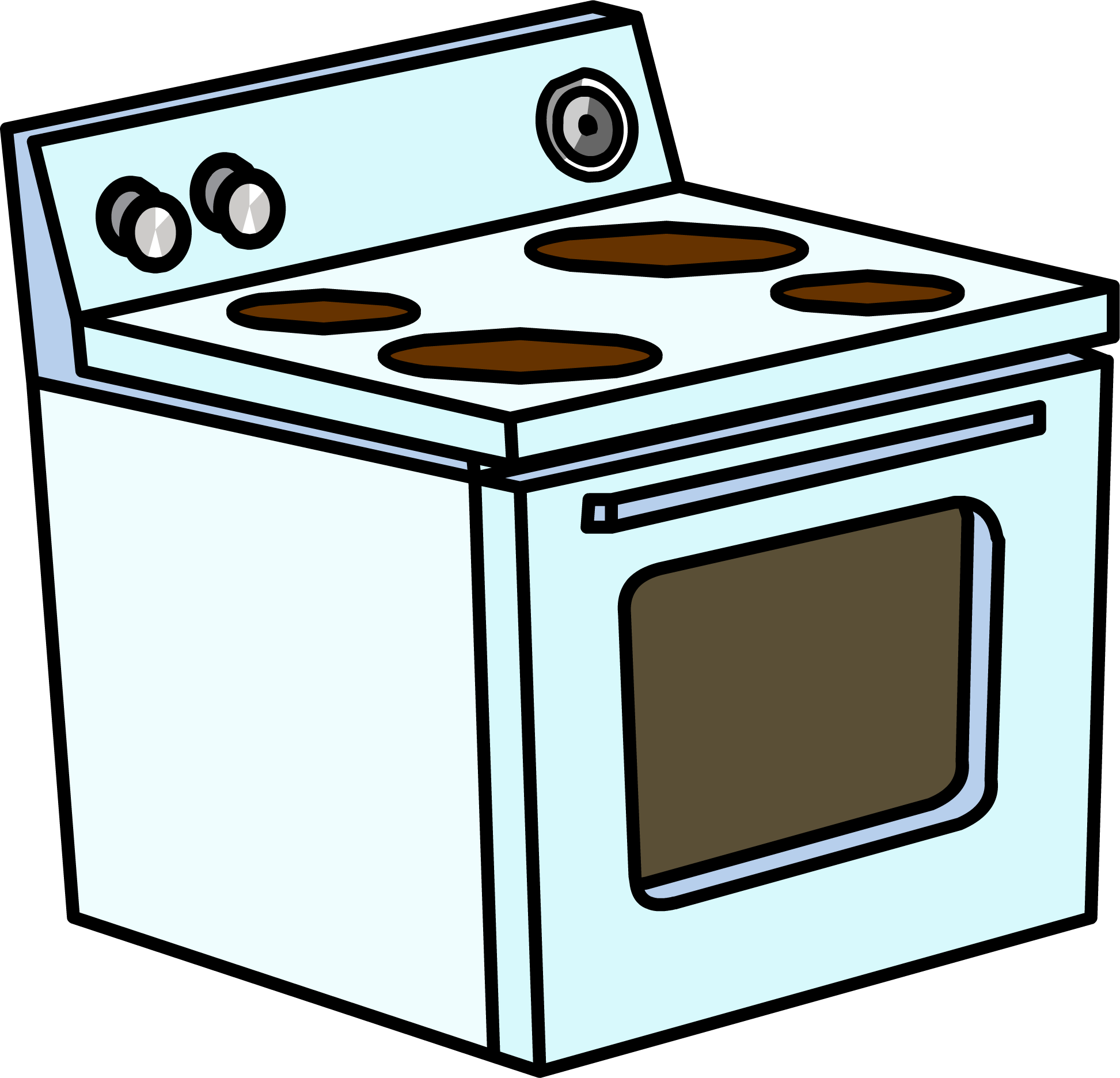 picture transparent library Kitchen stove clipart.  collection of electric