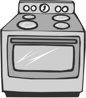 graphic black and white stock Free cliparts download clip. Kitchen stove clipart