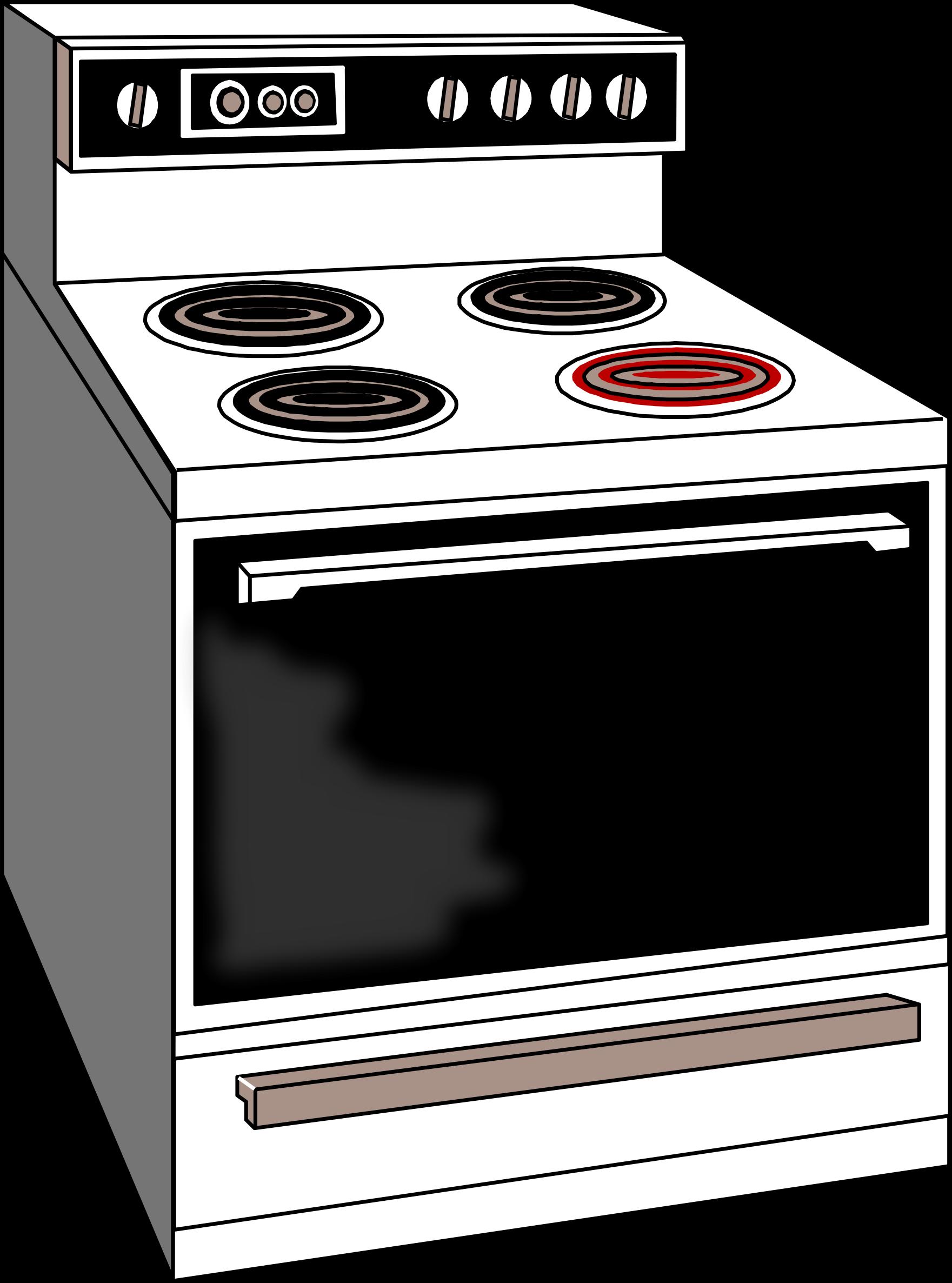 banner freeuse download Big image png. Kitchen stove clipart