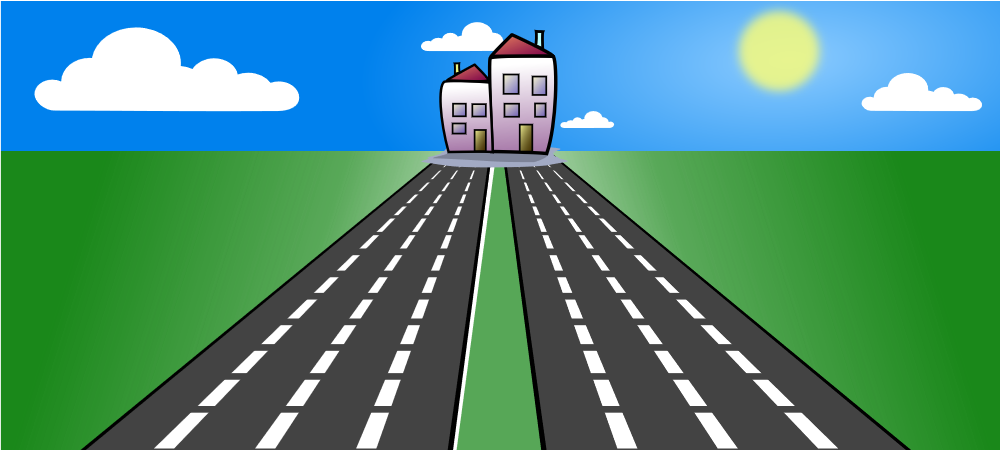 picture free stock Horizontal Road Clipart