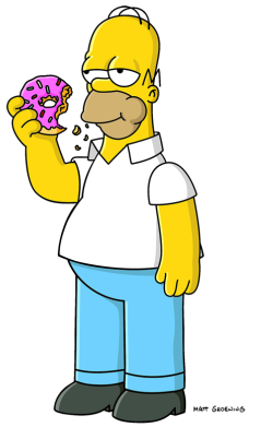 graphic royalty free stock Homer Simpson
