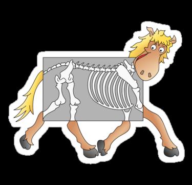 clip art free download Skinny Horses