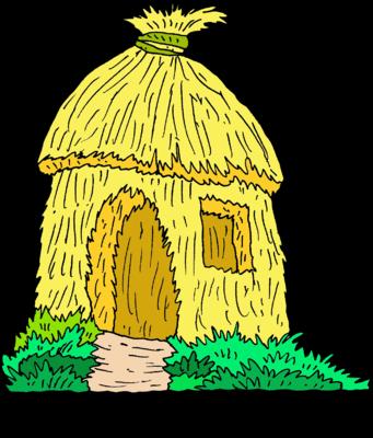 clip art free download straw hut clipart #67667126