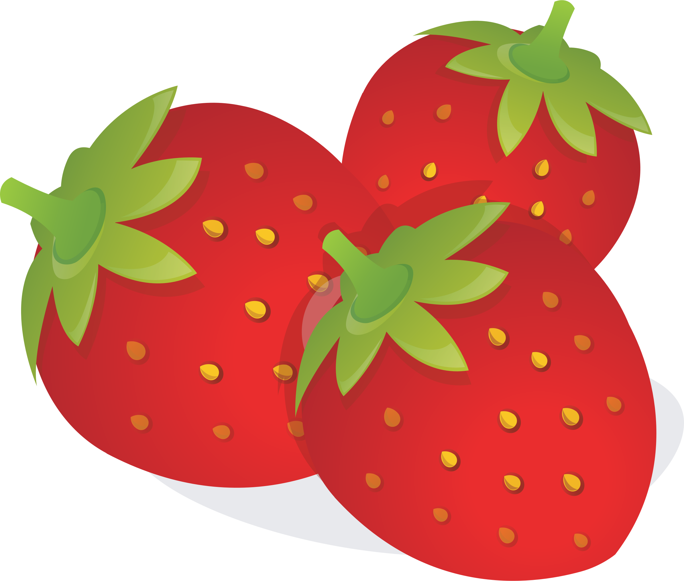 picture royalty free download Strawberries clipart.