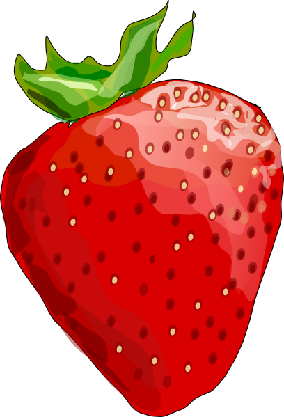 banner free download Strawberry clip art at. Drawing strawberries animated
