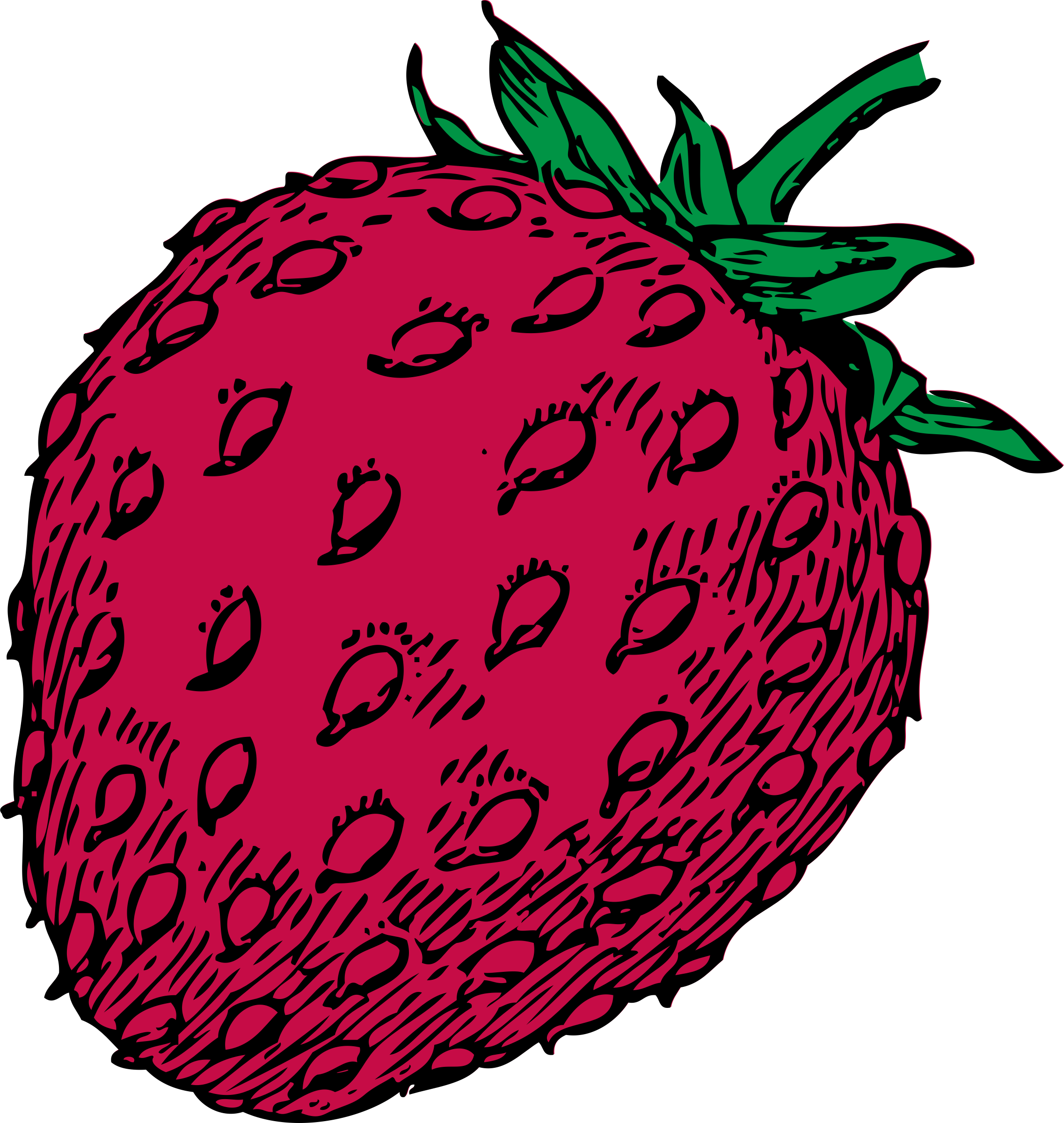 graphic transparent Drawing strawberries colour. Strawberry clipart icon frames