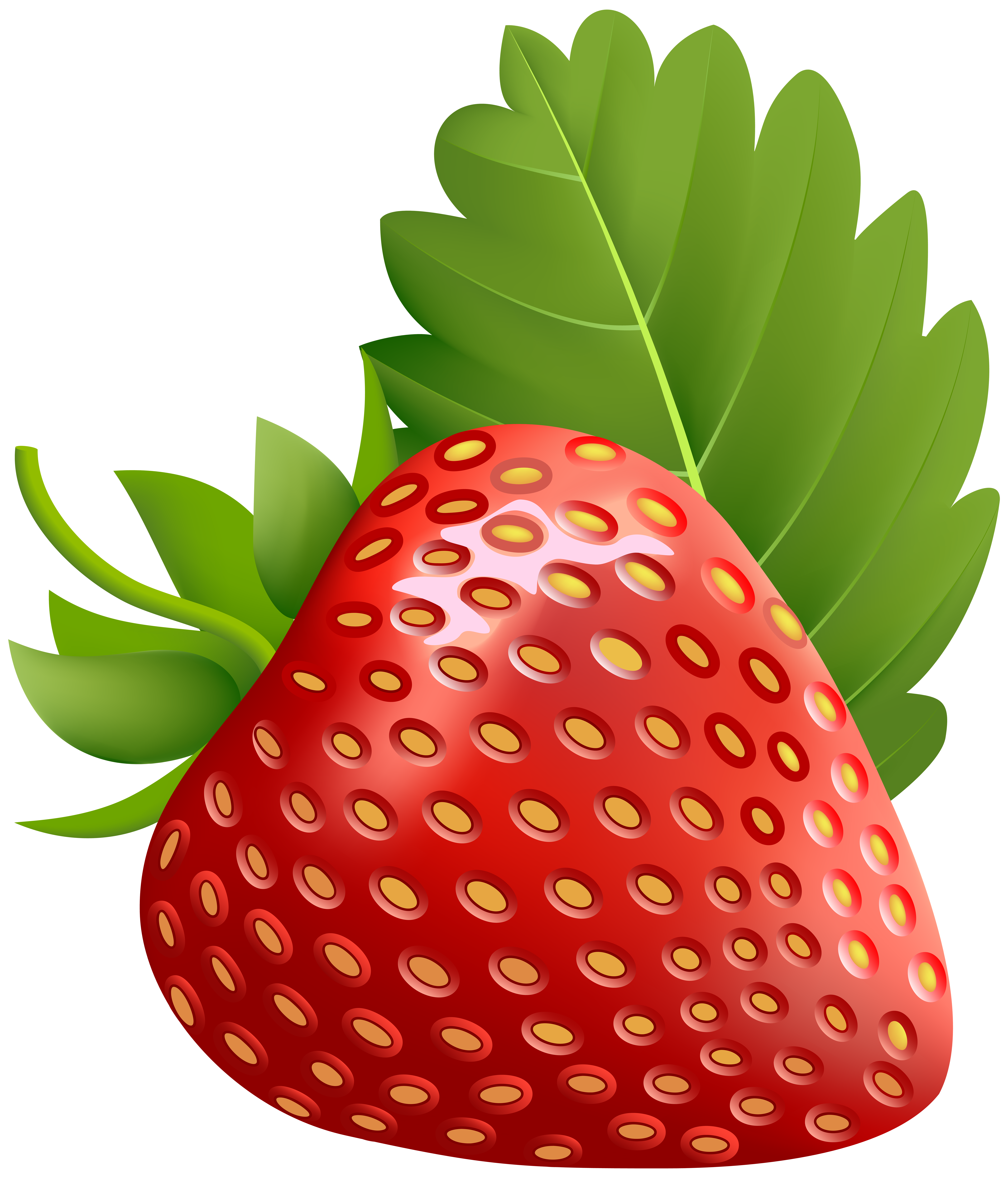 banner royalty free library Strawberry clipart double
