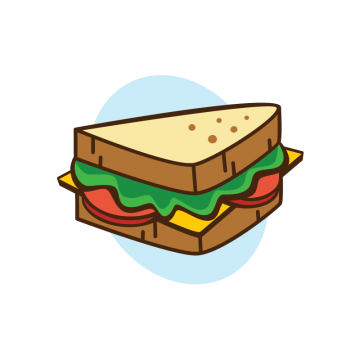 graphic library Sandwich clipart. Bread png vectors psd.
