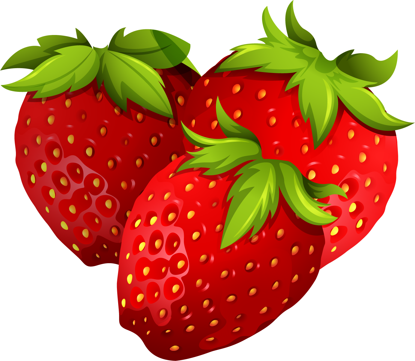 clip art transparent download Strawberry PNG Transparent Free Images