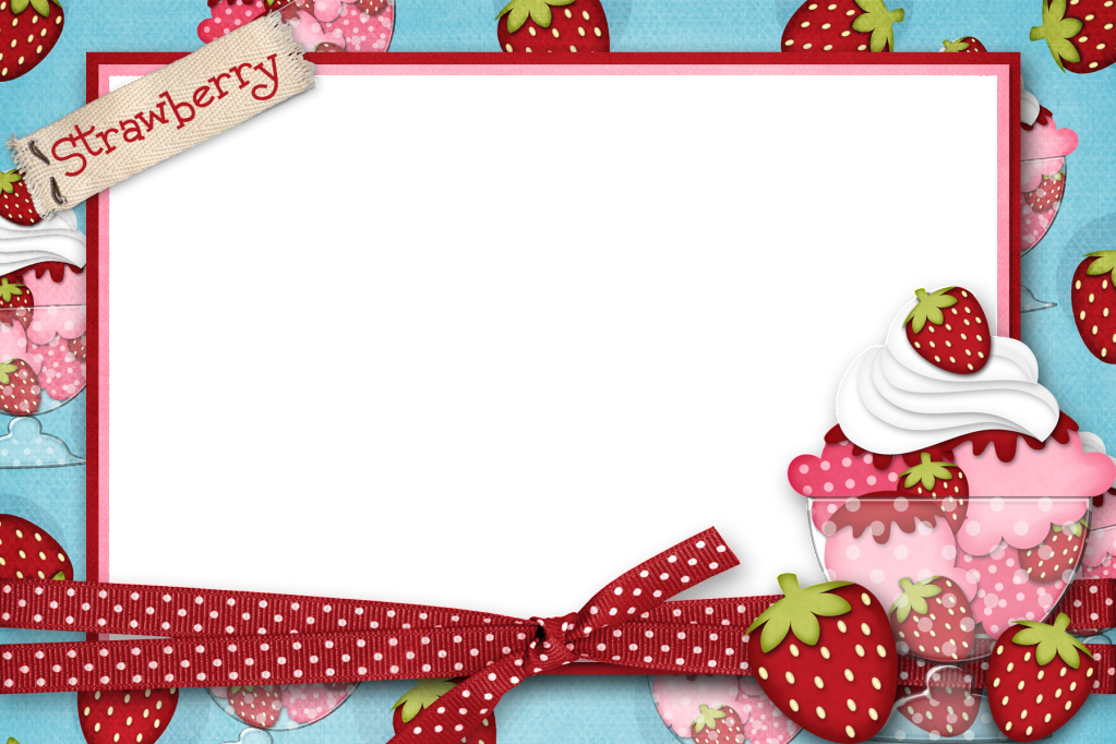 jpg free library Strawberry Frame Picture By Sweetandsourmama Photobucket