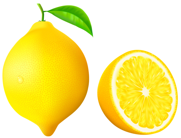 clip Lemon PNG Vector Clipart Image
