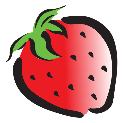 clipart freeuse Strawberry cartoon