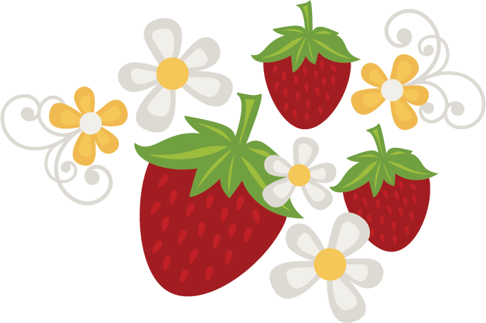 picture download Strawberry clipart strawberry flower