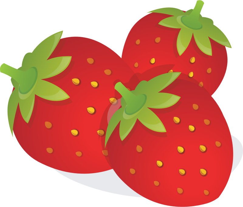 svg black and white download Strawberry clipart svg