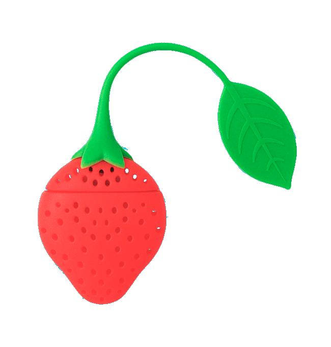 jpg freeuse stock Strawberry Tea Infuser