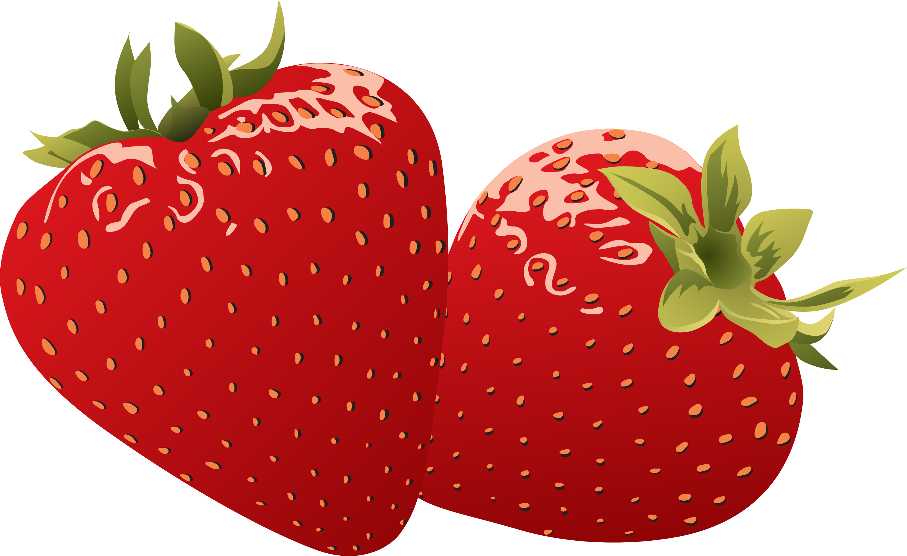 clip art free library Clear background free on. Strawberry clipart