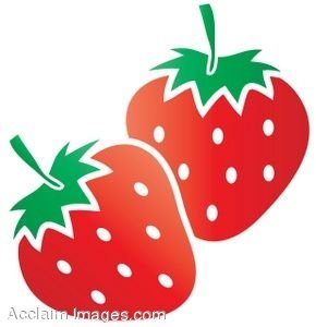 picture free library Clip art free panda. Strawberry clipart