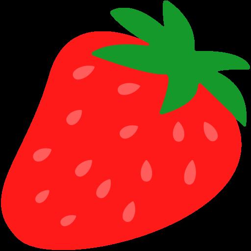 svg transparent library strawberries clipart emoji #84116467
