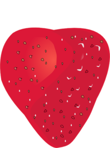 banner free Without clip art at. Strawberry clipart stem