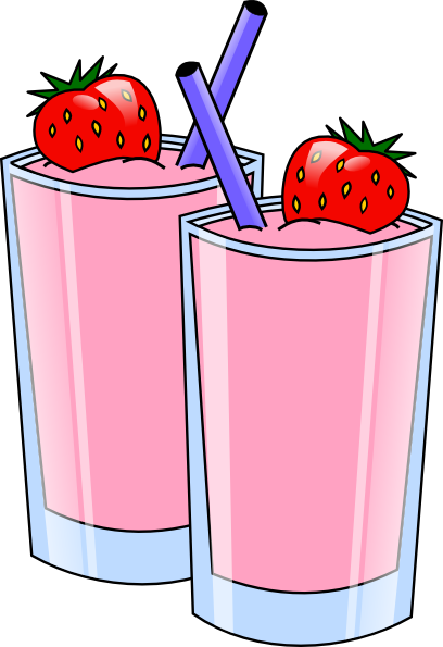 image free library Strawberry Smoothie Drink Beverage Cups Clip Art at Clker