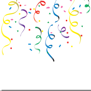 graphic transparent Free images at clker. Streamers clipart