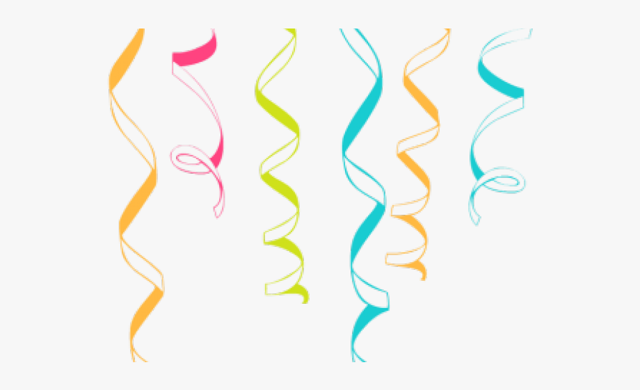 clipart stock Streamers clipart. Jpg black and white