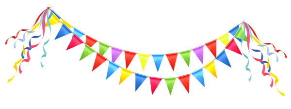 jpg library Streamers clipart. Transparent party streamer png