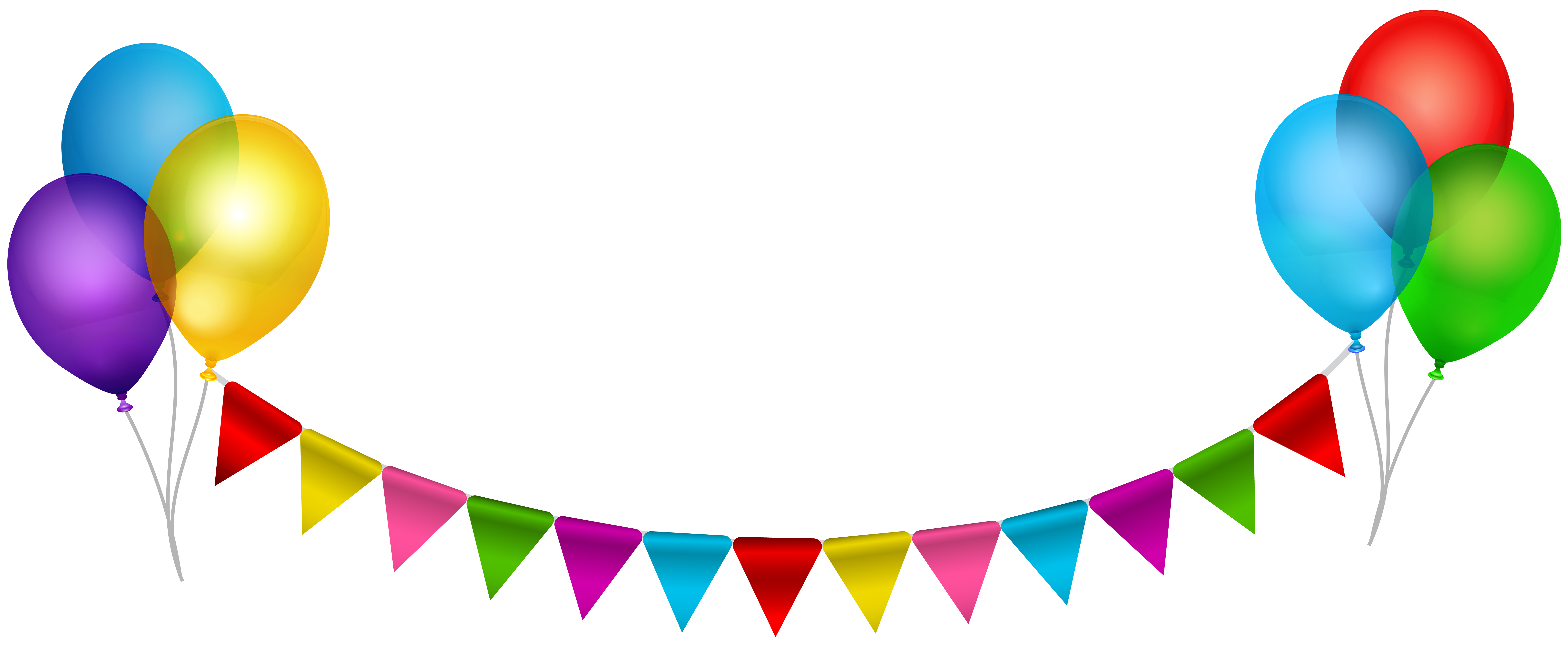 jpg transparent Streamers transparent background. Party streamer with balloons