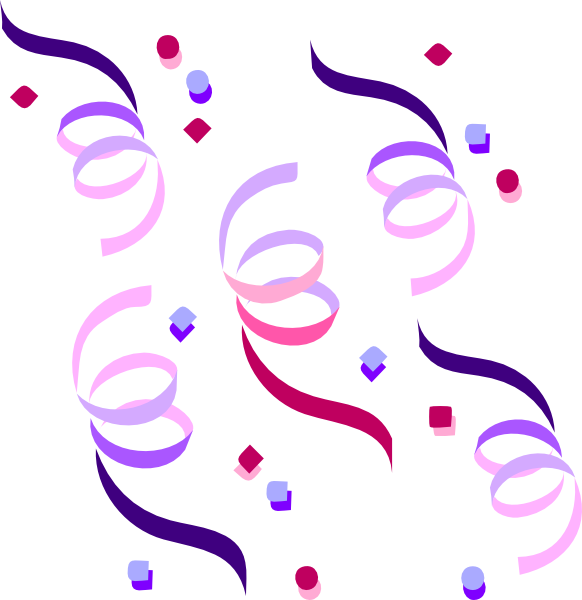 banner royalty free library Streamers Clip Art at Clker
