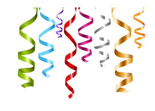 graphic freeuse library Png hd images pluspng. Streamers transparent