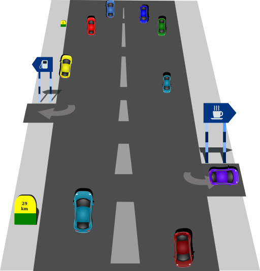 clip art royalty free stock Road Highway Traffic sign Clip art