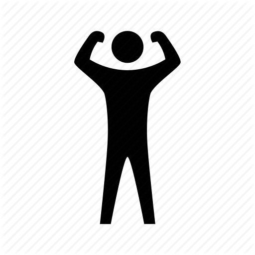 banner transparent download Yes clipart strength. Training icon exercise muscle