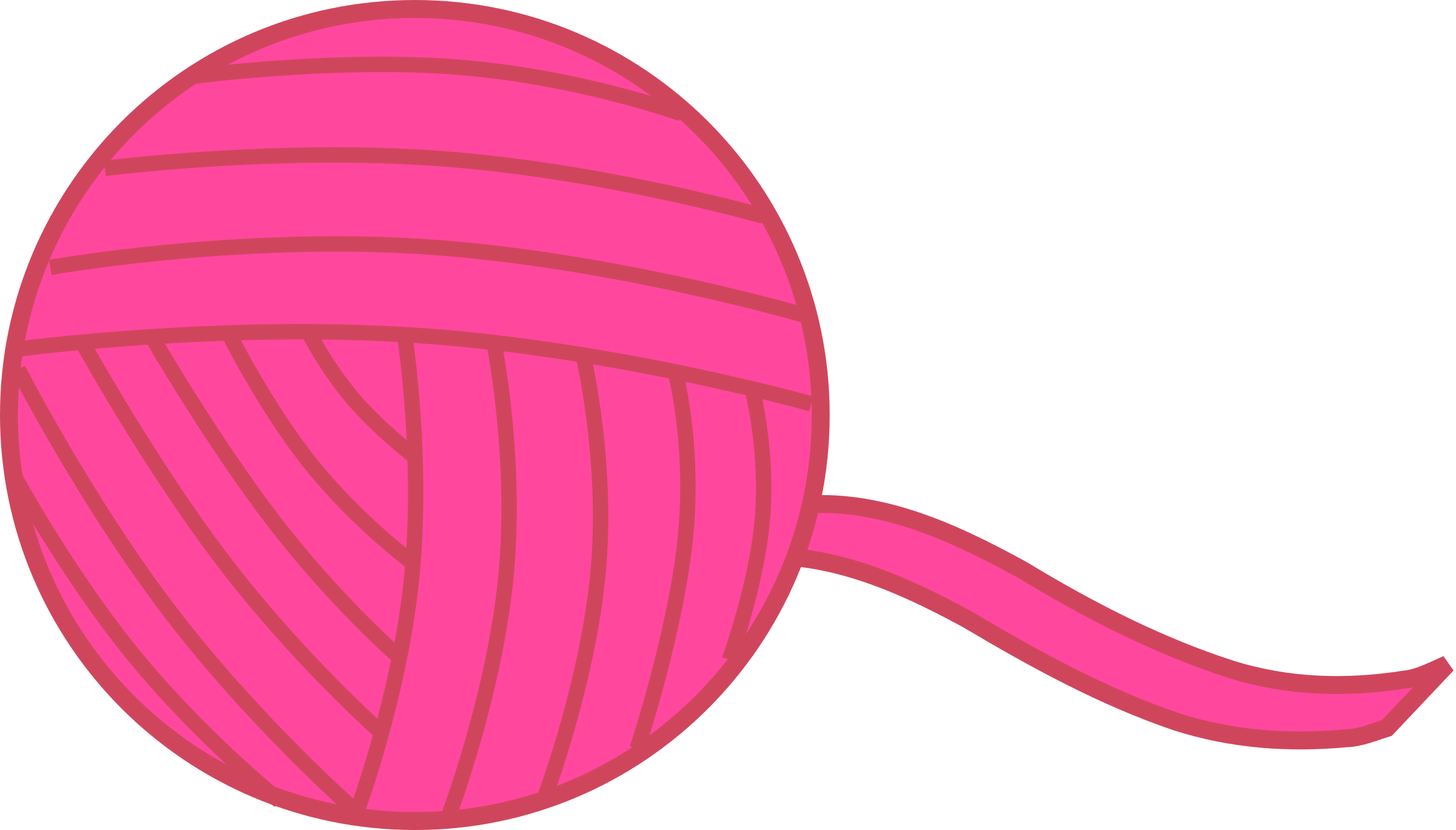 clipart String clipart. Shining design pink ball