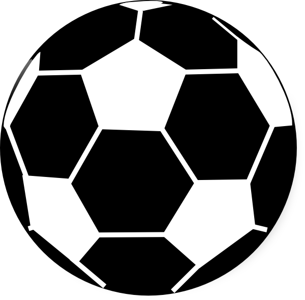 download Sport balls clipart black and white. Football laces panda free
