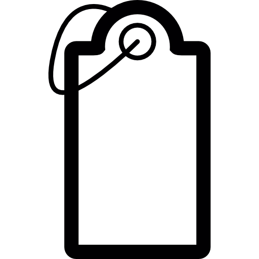 clip library library Tag price with String