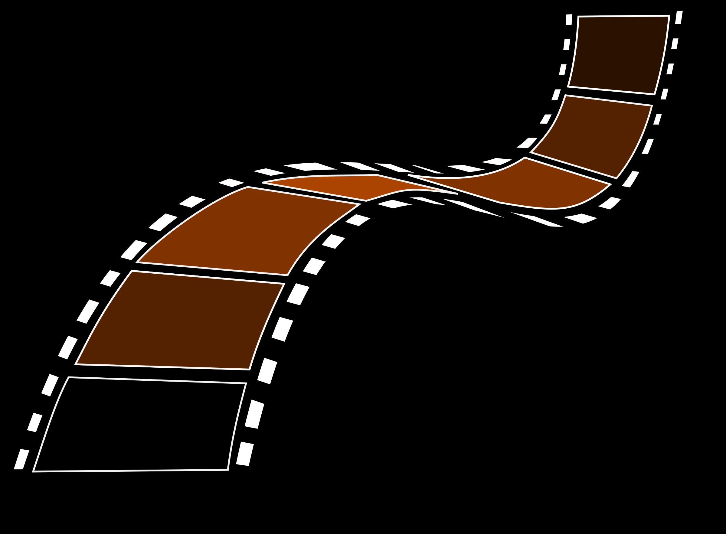 banner transparent download Sepia film big image. Strip clipart