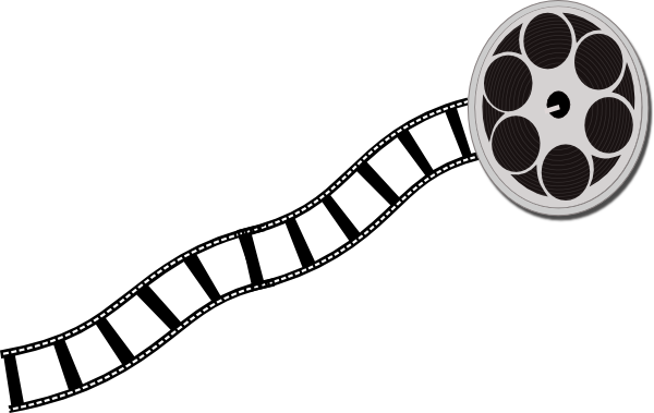 jpg library download Hollywood Film Strip Clipart