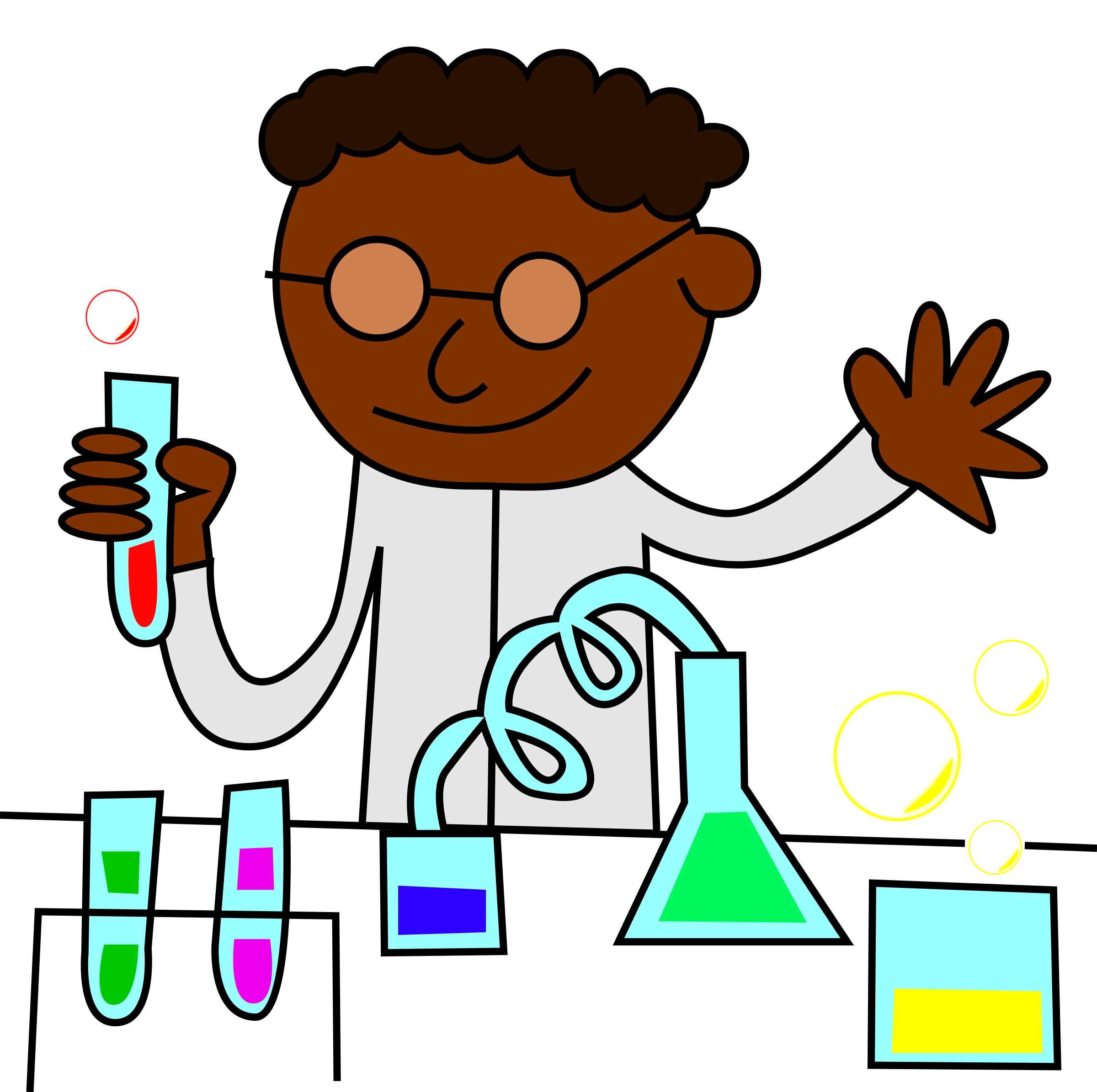 jpg stock Science lab safety clipart.  collection of strong