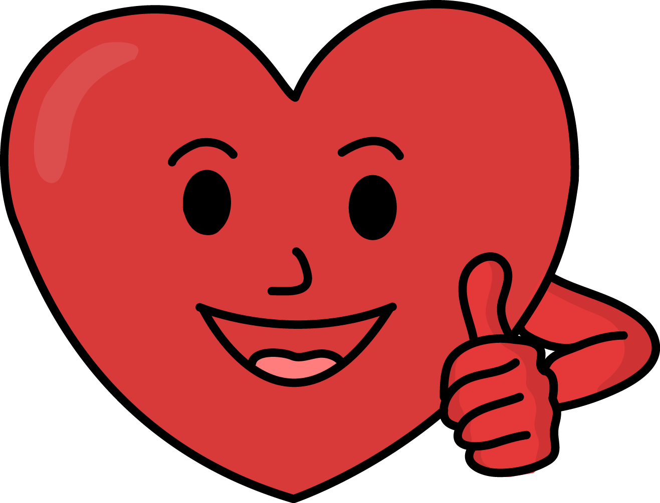 vector free download Strong clipart. Image for free heart